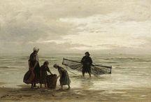 Schilderkunst kust