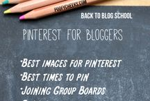 Bloggers and Pinterest tips / by My Family Ties