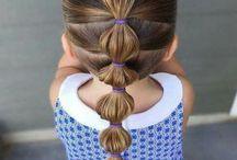 meisjes haren