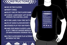 Space Invaders Game T Shirts