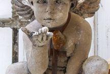 Angels / Art,Sculpture,paintings, paper