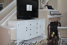 repurposed/upcycled furniture / by Sissey Spencer