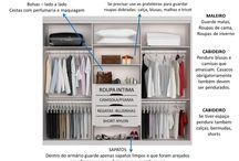 organização guarda roupa