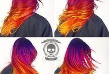 Hair coloring!