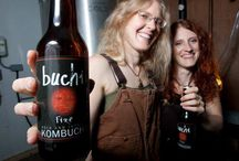 Kombucha Mothers / Our company was founded by two beautiful moms who met through their kids homeschool coop and discovered the both brewed and almost identical tasting kombucha.  They started brewing together for the Asheville farmers market, and 6 years later we are one of the largest kombucha breweries in the country sold in 600 retailers in 15 states!