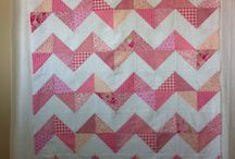 Another baby chevron quilt