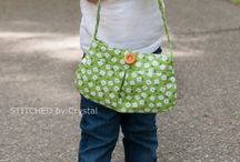 sewing girl's bags beginners