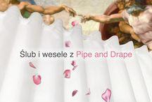 Lumirent - Ślubne inspiracje - Pipe&Drape / Pipe&Drape - rozwiązania aranżacji ślubnych