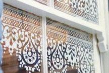 Janelas e porta de vidro