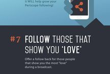Social Media Tips. / Learn how social media can drive traffic and build relationships to grow your business.