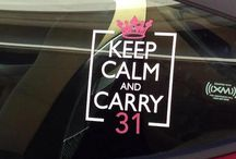 Uppercase Living CAR DECAL
