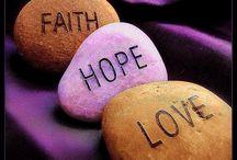 Faith, Hope, & Love / by Michelle Smith