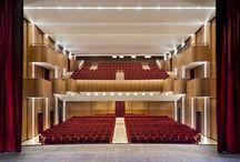 Teatro Sociale, Sondrio (Italy) / Completely renewed the historic theater. Project Architect: Ing. Nicola Berlucchi - Studio Berlucchi Photographer: Germano Borrelli