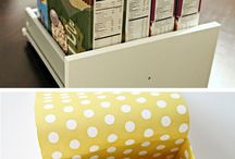 scrapbook organizing ideas