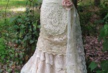 Bridal dress upcycled