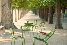 Siedziska, ławki miejskie