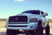 Big boy trucks ;) / Purely for my truck addiction  / by Ashton Collins