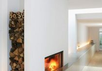 fireplace, living