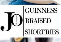Braised short ribs
