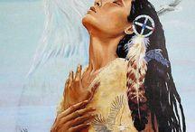 American Indian paintings