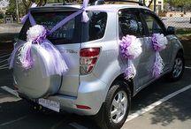 samochody dekoracje