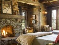 bedrooms / by Nancy Howe