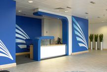 Reception Area - The First & Lasting Impression / Creative and inspiring Reception Areas. Creating that Wow Factor