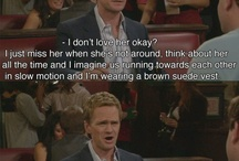 HIMYM / How I Met Your Mother / by Erin Baum (Lindeau)