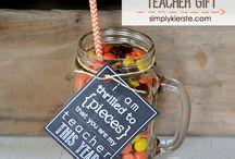 Teacher Gifts Ideas / Inexpensive ideas for teacher's gifts.