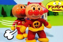 ねんどdeアンパンマン❤初めて体を作りました!アニメ&おもちゃ Anpanman toys