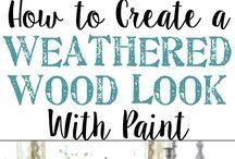 Rustic paint techniques annie sloan