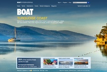 Home Page Covers / A look back at the past home pages that have appeared on Boatinternational.com since we relaunched the site in July 2011 / by Boat International