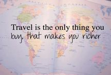 Places I want to see / Travel