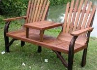 Benches: Come Sit Awhile / by Donna Priester