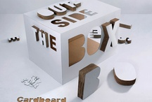 C is for cardboard / by Mrs. Paper a.k.a. Atelier Descartes