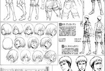ani-manga concept arts
