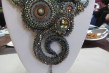 Bead embroidery ▪ Lynn Parpard