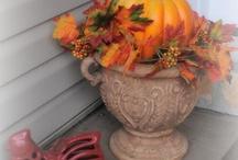 Autumn & Christmas decor