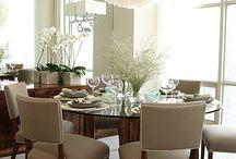 Dining Area Inspiration ♥ / by Tara ♥