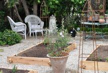 Trädgård, växthus & planteringar