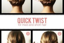easy, quick hair styles