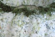 Salatalıklı lorlu meze