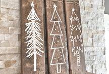 Navidad madera