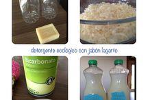 Ecología  / Cómo hacer tu propio detergente en casa. Económico y respetuoso con el medio ambiente