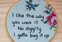 Make It {Embroidery/CrossStitch} / by SeamstressErin Designs
