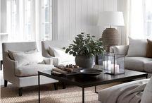 Olohuoneet / Eri tyylisiä olohuoneita - ideoita sisustamiseen