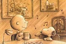 Snoopy & Charlie Brown / by Kirsty Higginson