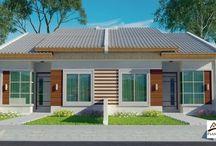 Plantas de casas pequenas / Projetos de casas pequenas