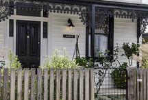 exterior paint villa