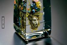 Inspiracje: Glass blowing